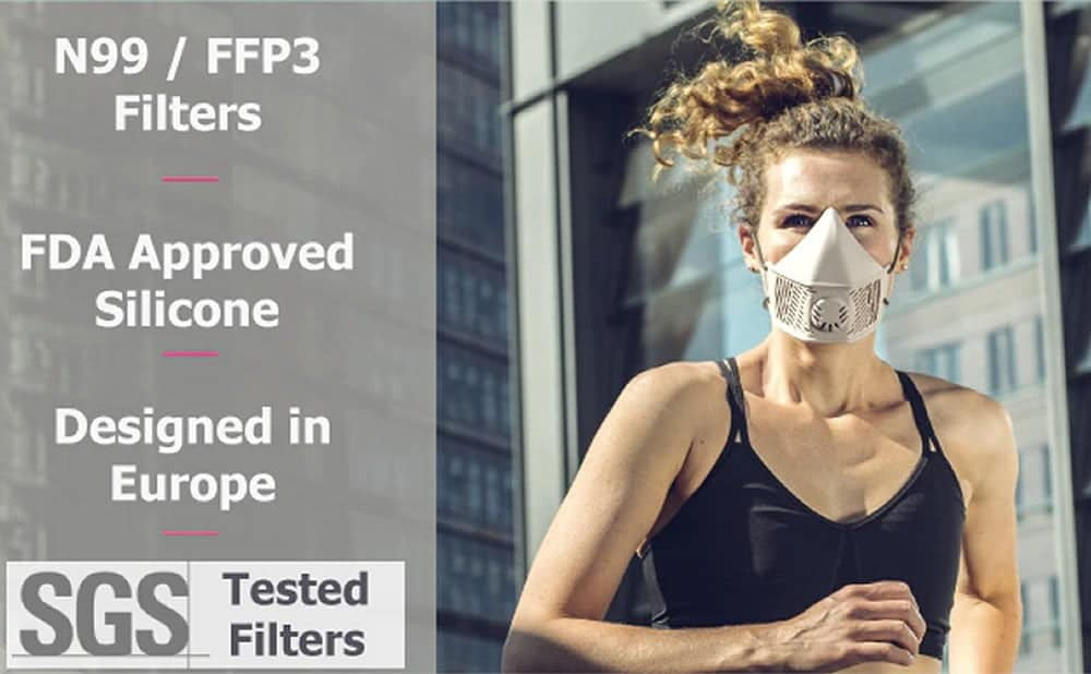 Masques FFP3 réutilisables MOD S2