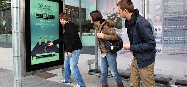 Écran géant interactif affichage