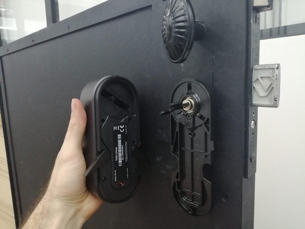Installation serrure connectée Linus