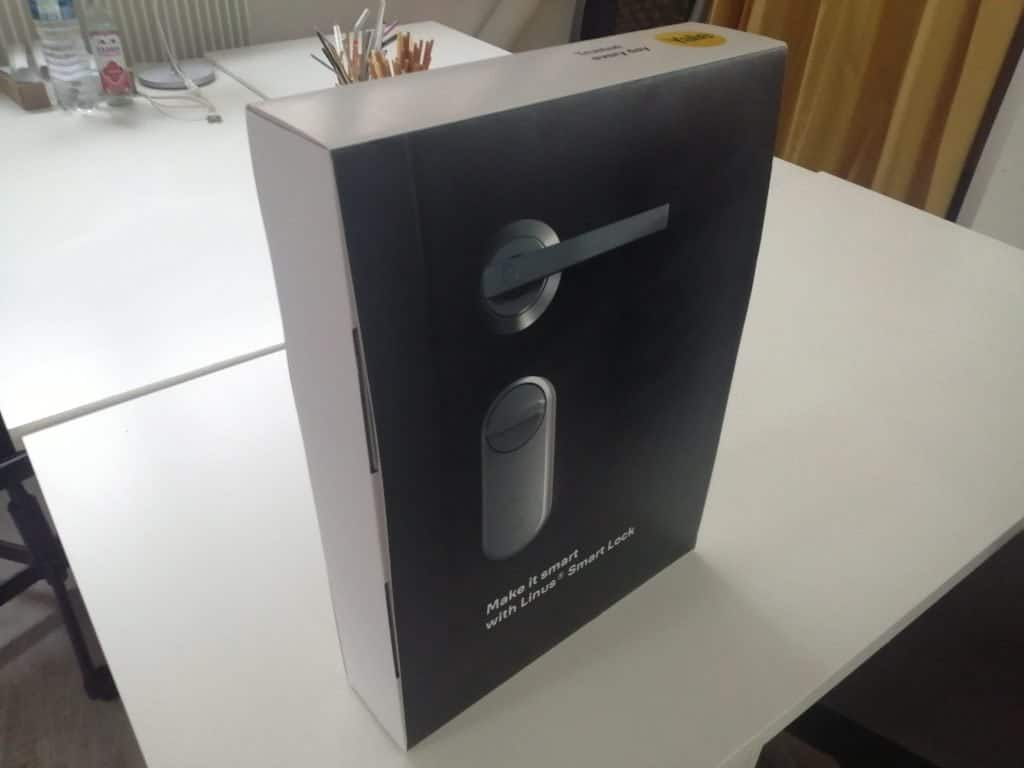Packaging Yale Linus Smart Lock