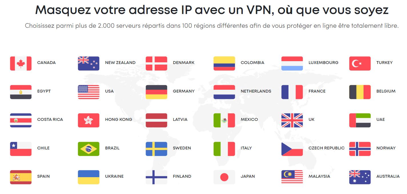 Protection VPN réduction