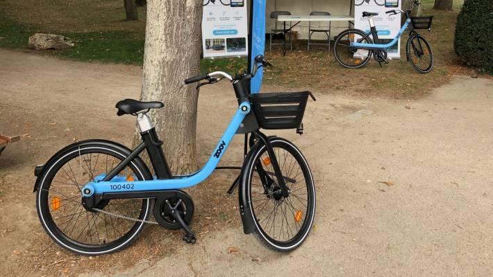 Zoov vélo électrique libre service paris