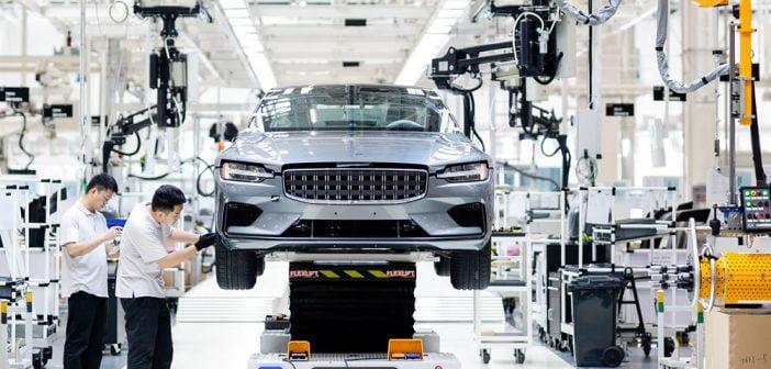 Emploi automobile électrique usine