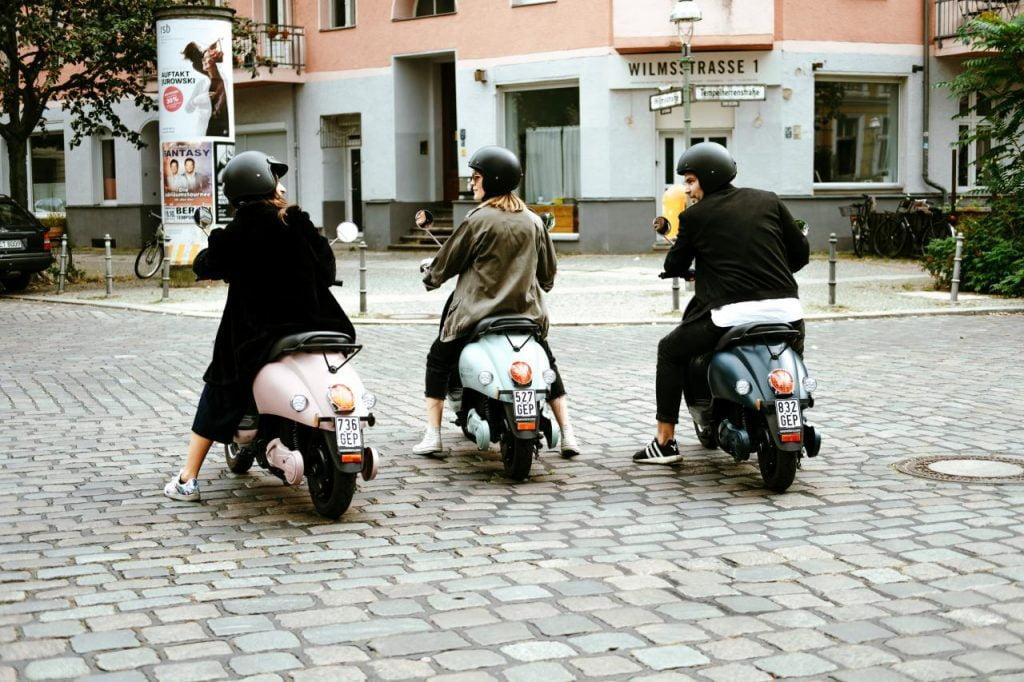 étude utilisateurs scooter électrique marché