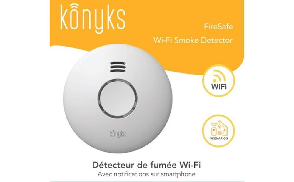 Konyks FireSafe détecteur de fumée 2.0
