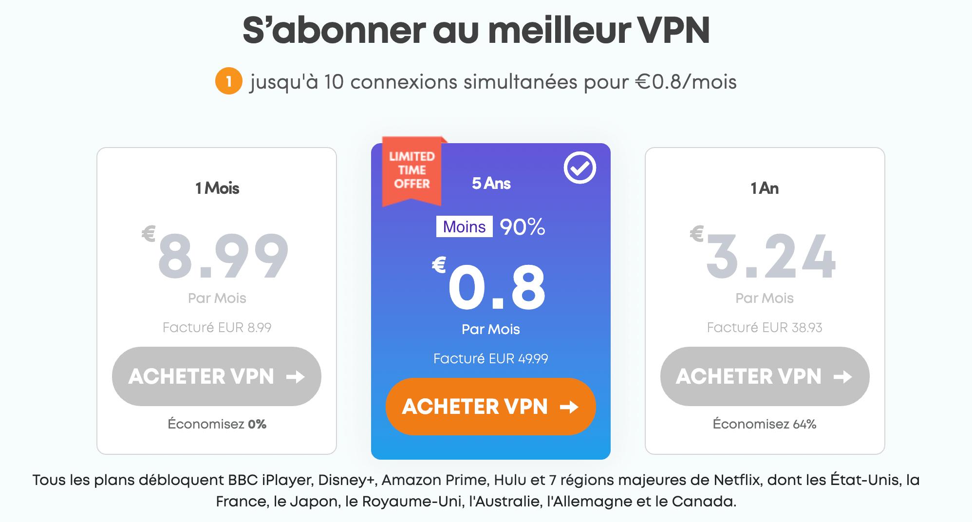 promotion vpn ivacy bon plan tarif prix