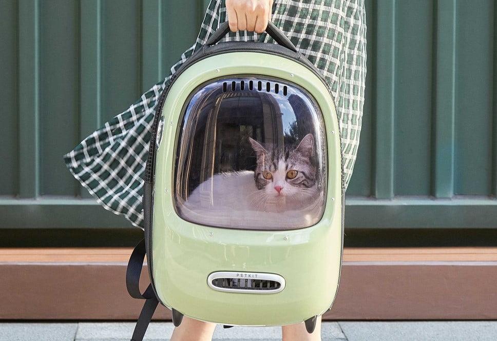 sac à dos chat top objet innovant