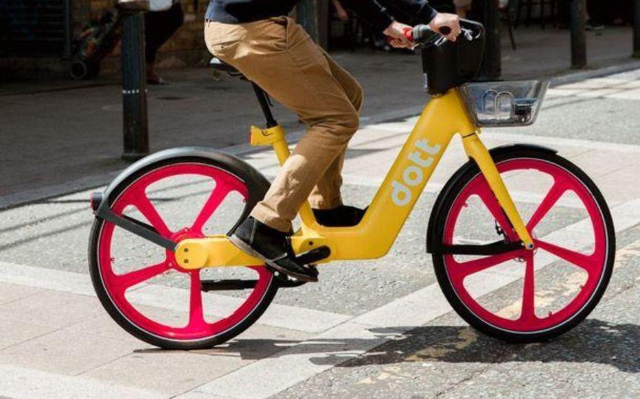 service location vélo électrique paris dott