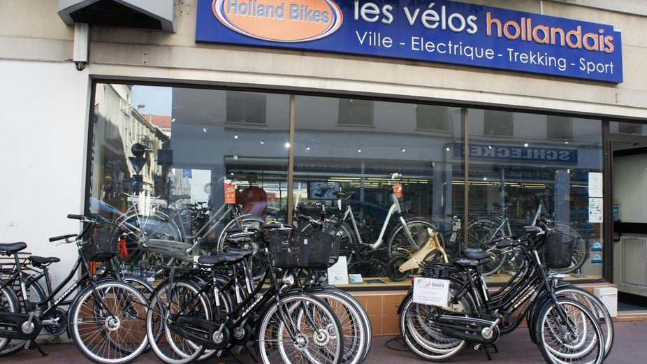 service location vélo électrique paris hollandbike