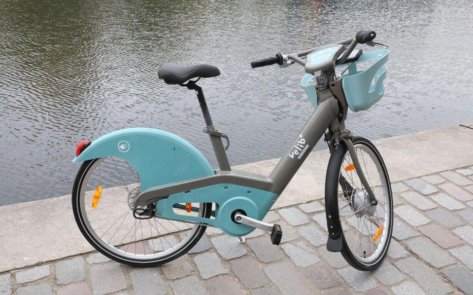 vélib service vélos électriques