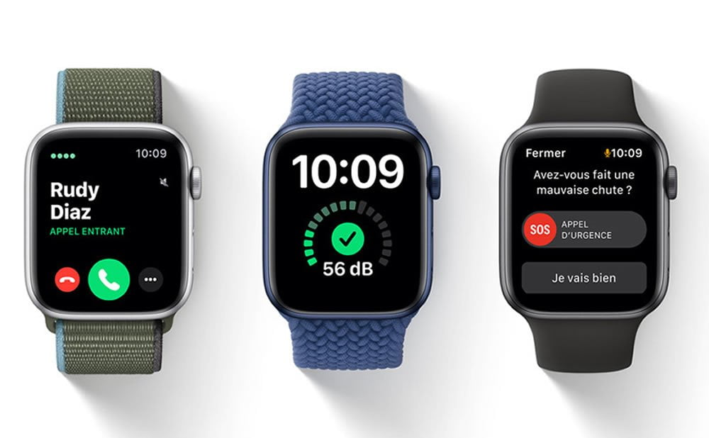 Nouveautés watchOS 7 Apple Watch