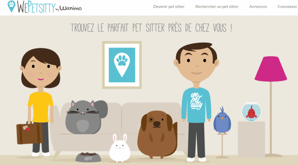 wepetsisitty innovations chiens et chats