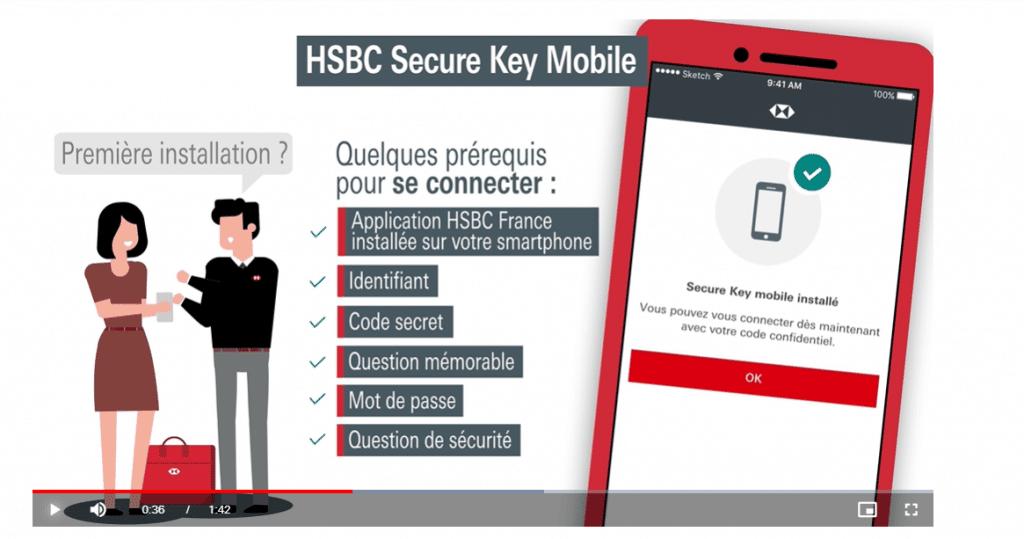 Key Secure authentification transaction en ligne