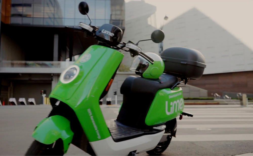 Lime Scooters électriques Paris