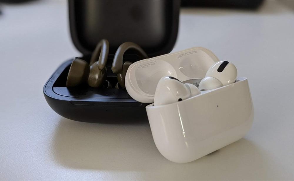 AirPods Pro ou Beats PowerBeats Pro : quels sont les meilleurs écouteurs sans fil ?