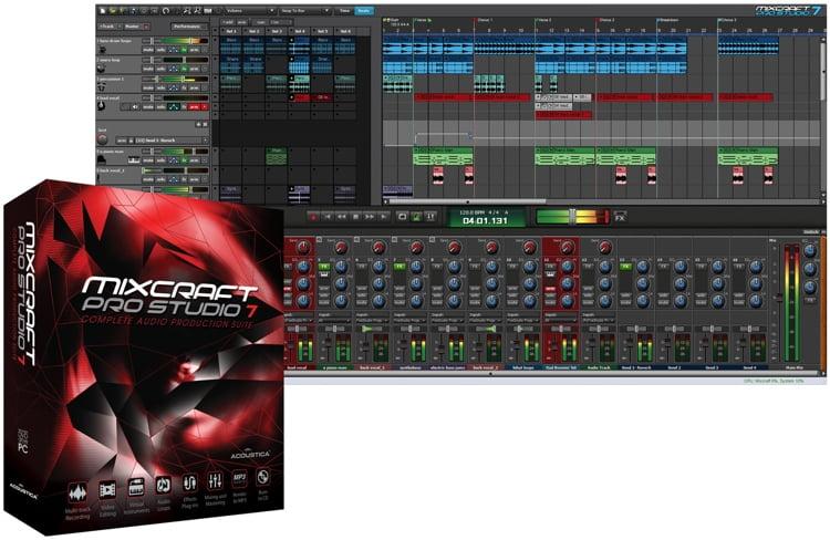 top DAW acoustica mixcraft 9 pro studio