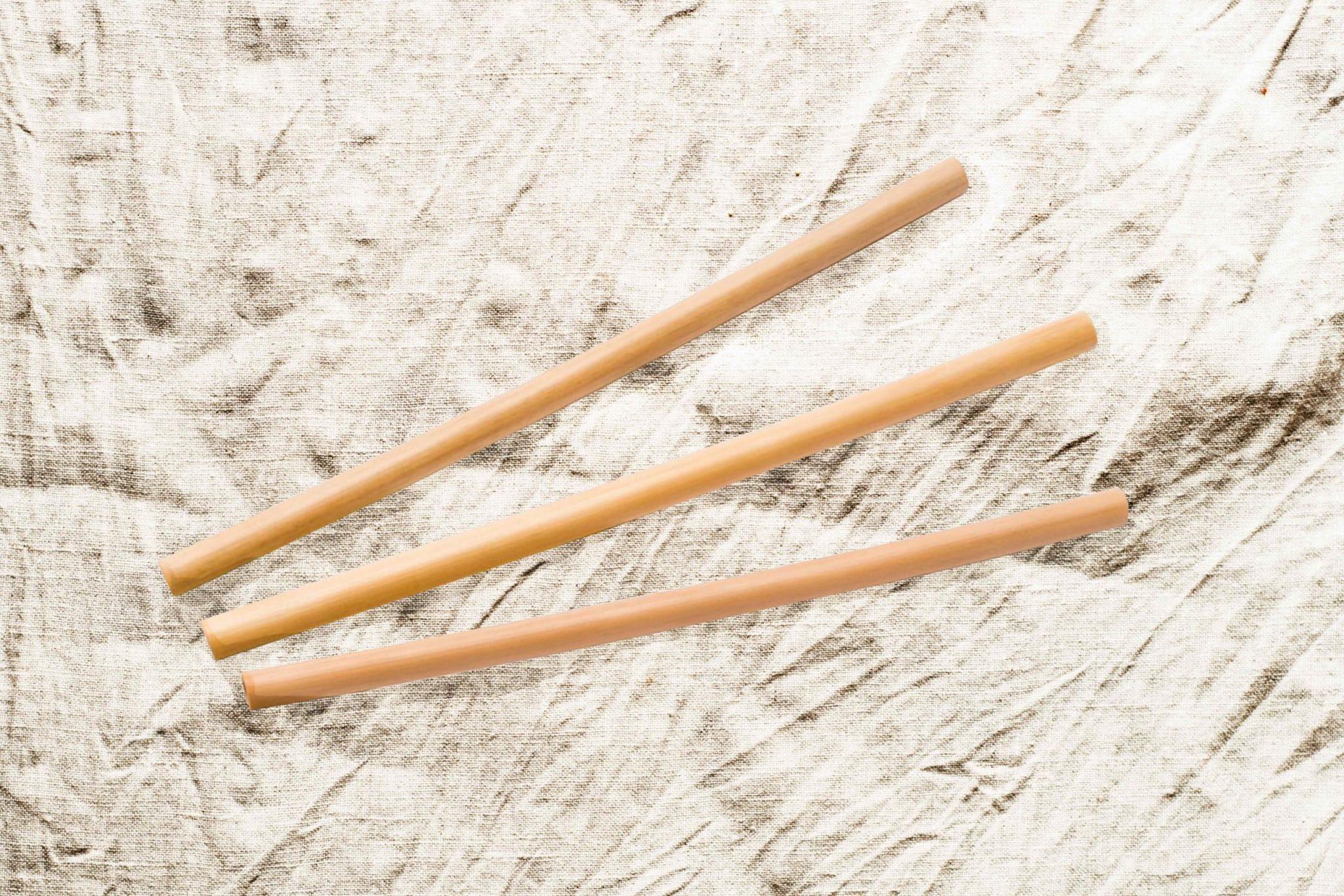 Pailles en bambou zéro déchet et personnalisables