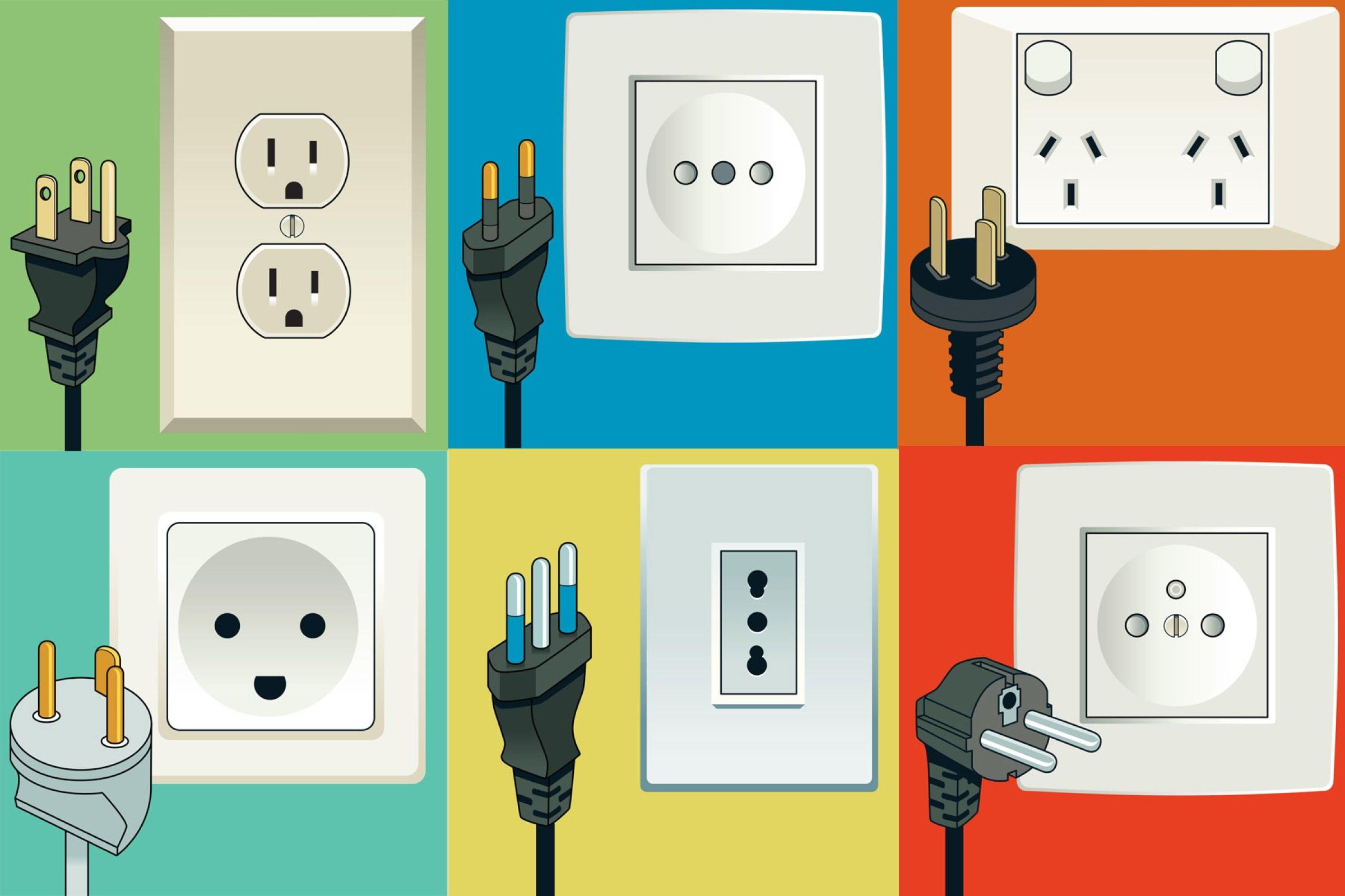 Les différents types de prises électriques dans le monde