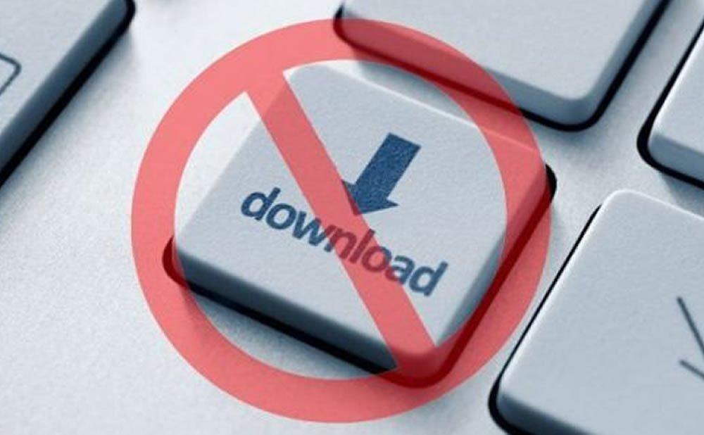 Téléchargement illégal risques