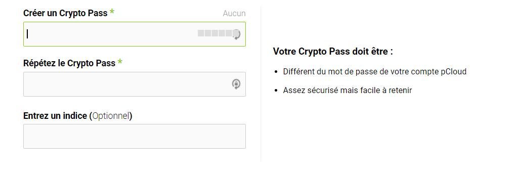 test Cryptopass