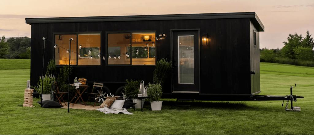Tiny house IKEA extérieur