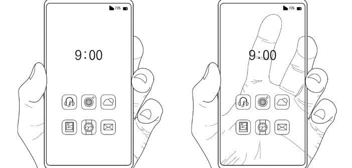 illustration dans le brevet de Samsung