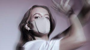 image promotionnel pour la sortie du Lite Air mask de Airinium