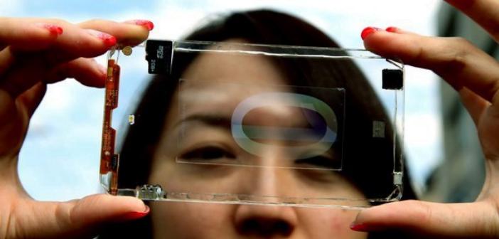 prototype telephone portable transparent