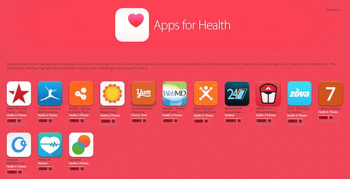 applications Healthkit