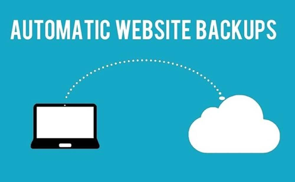 Backup automatique site web sauvegarde
