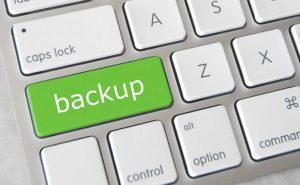 Backup site internet