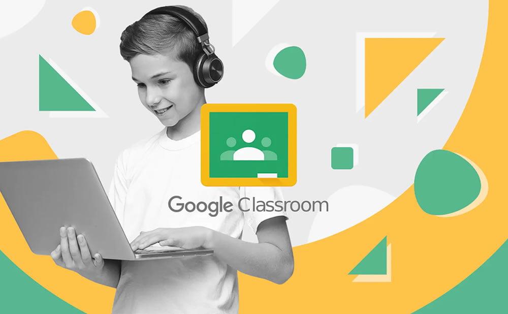 Google Classroom application