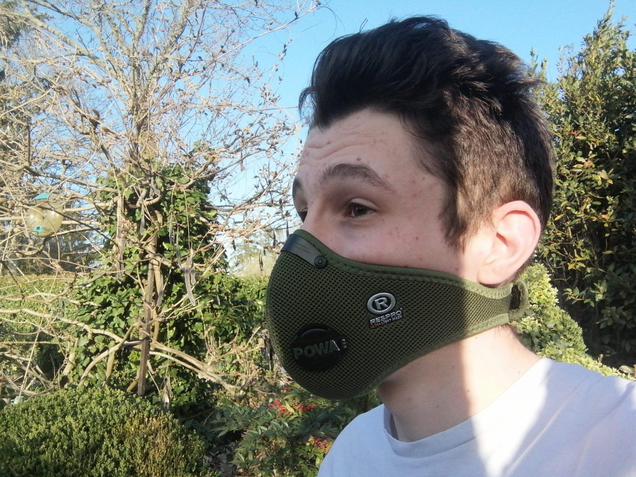 UltraLight Mask porté