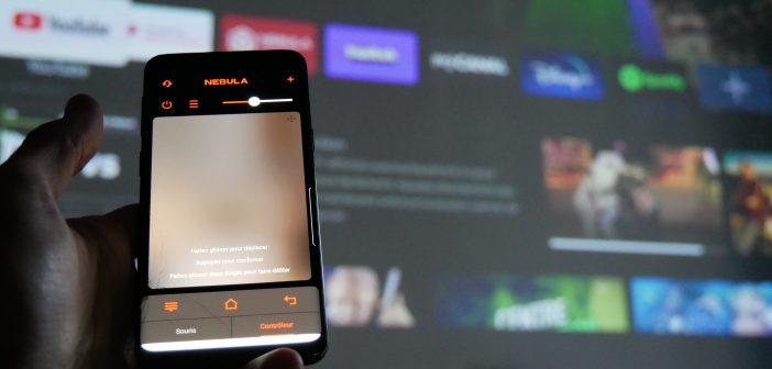 L'application Nebula Connect permet de faire de votre smartphone une télécommande