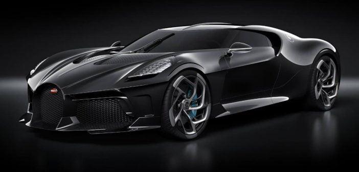 """La voiture la plus chère du monde est """"La voiture noire"""" de chez Bugatti"""