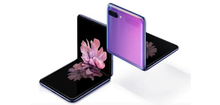 Smartphone pliable Samsung Galaxy z flip