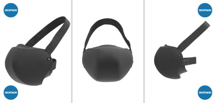 Prototype masque sportif decathlon
