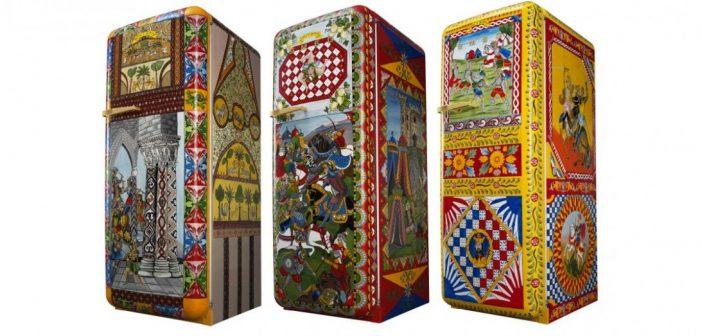 Le Frigo FAB28R de chez Smeg et designé par Dolce&Gabbana est le plus cher du monde