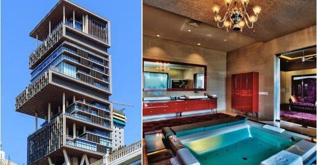 La résidence la plus chère du monde est le building Antilia