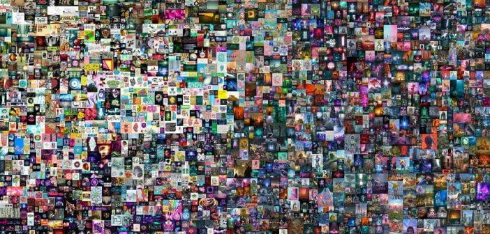 L'oeuvre numérique la plus chère du monde est un Jpeg appelé Everydays : the first 5 000 days