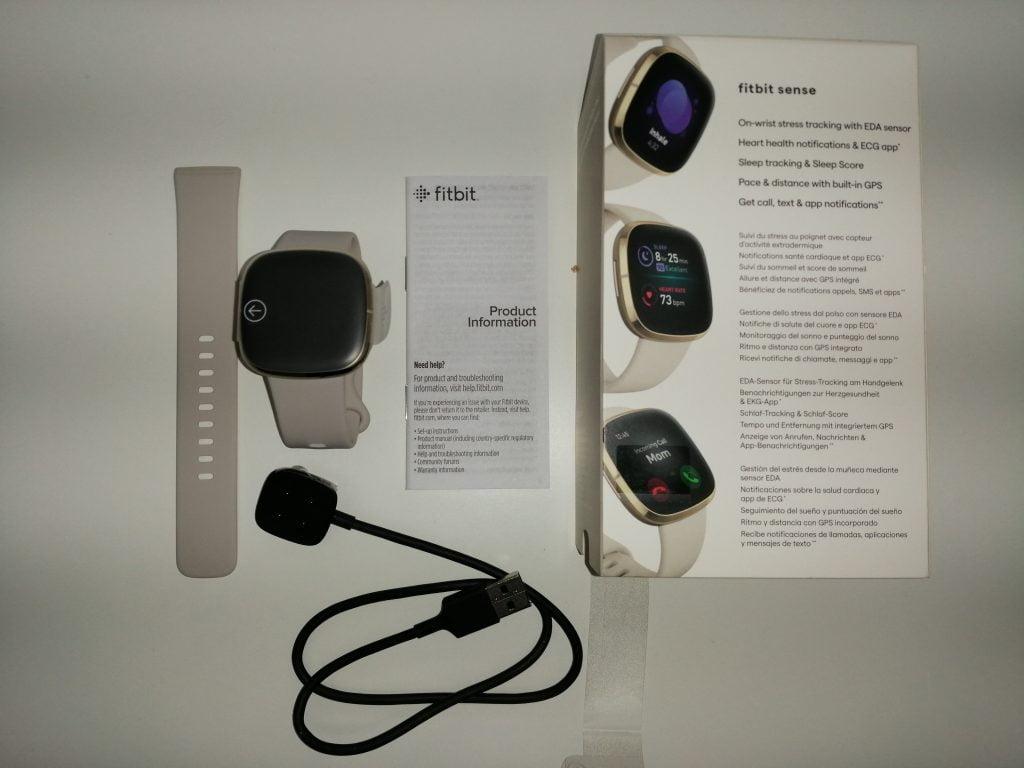 Composants boîte montre Fitbit