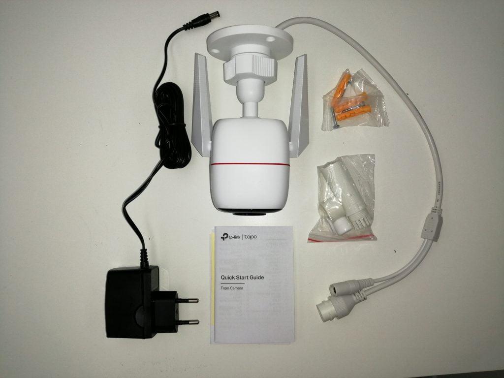 Composants caméra de sécurité Tapo
