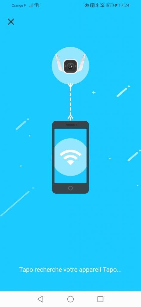 Connexion tapo C310 wifi
