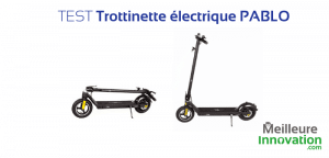 Test Trottinette électrique PABLO
