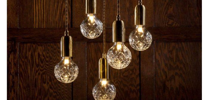 Le crystal de Lee Broom est l'ampoule la plus chère du monde