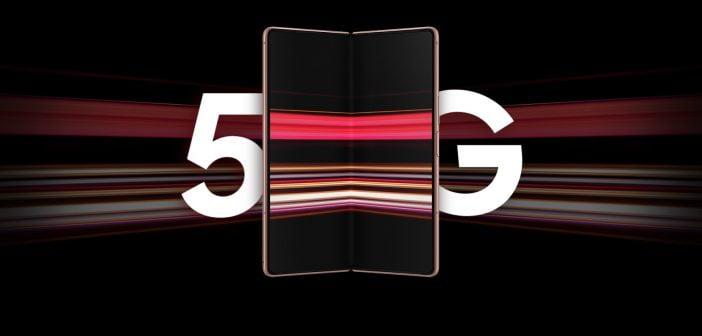 Ce smartphone pliable est compatible 5G