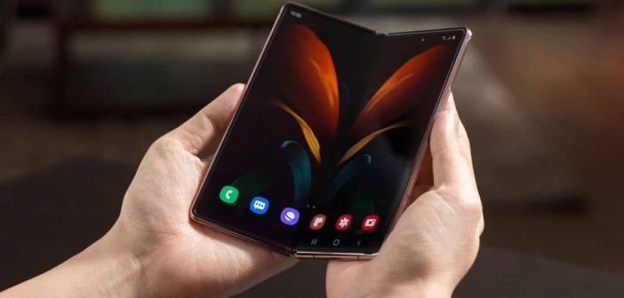 Smartphone pliable Samsung Galaxy z fold 2