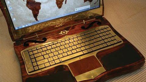 L'ordinateur le plus cher du monde est le Luvaglio Laptop