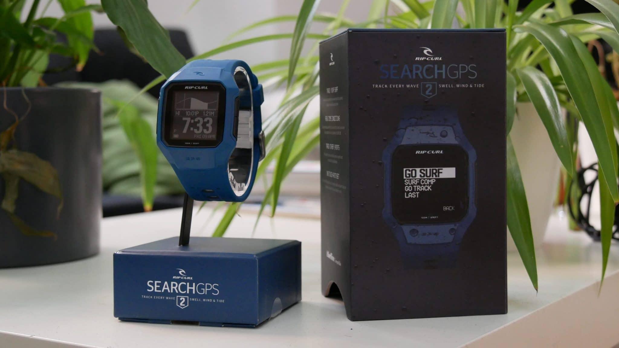 Cette montre connectée est parfaite pour suivre vos sessions de surf
