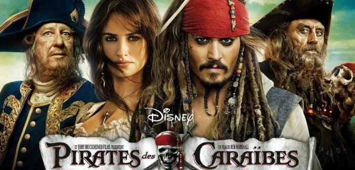 Le film le plus cher de l'histoire est le Priates des Caraïbes 4